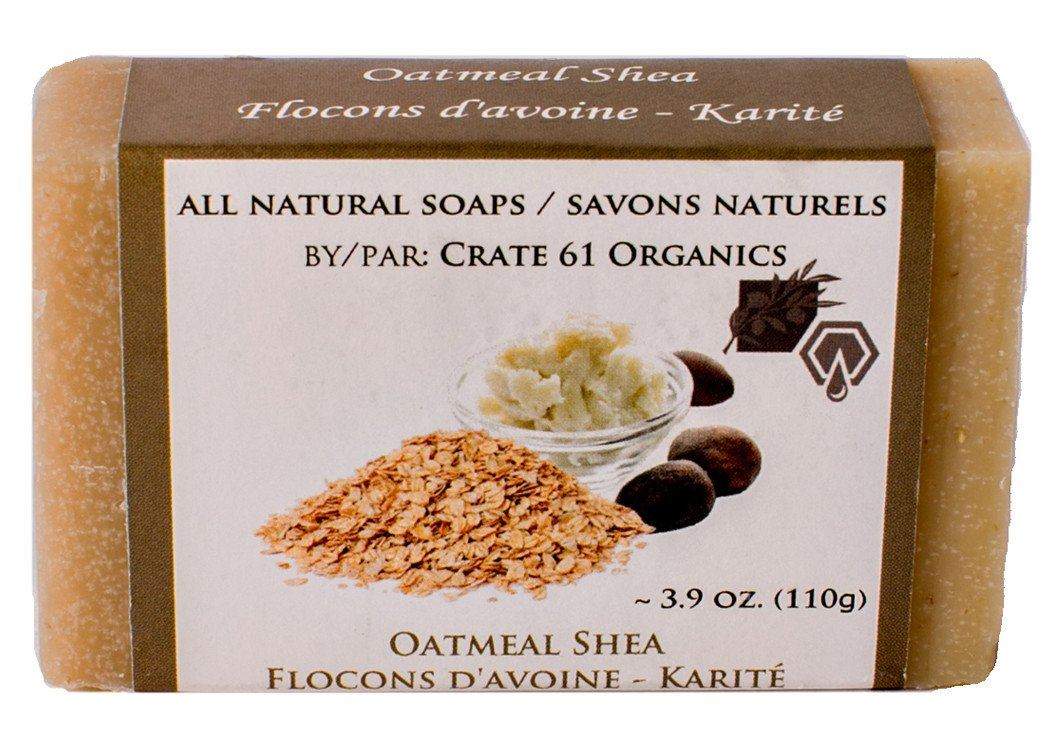 Personal Care - Crate 61 - Oatmeal Shea Soap, 110g