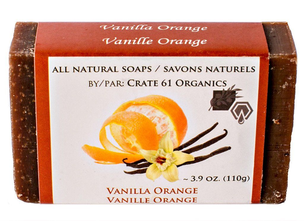 Personal Care - Crate 61 - Vanilla Orange Soap, 110g