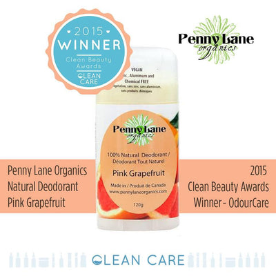 Personal Care,Deals Of The Week,Food & Drink - Penny Lane Organics - Pink Grapefruit Deodorant, 120g