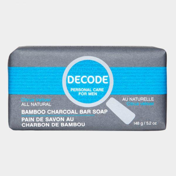 Personal Care - Decode - Bar Soap, Citrus Vetiver, 148g