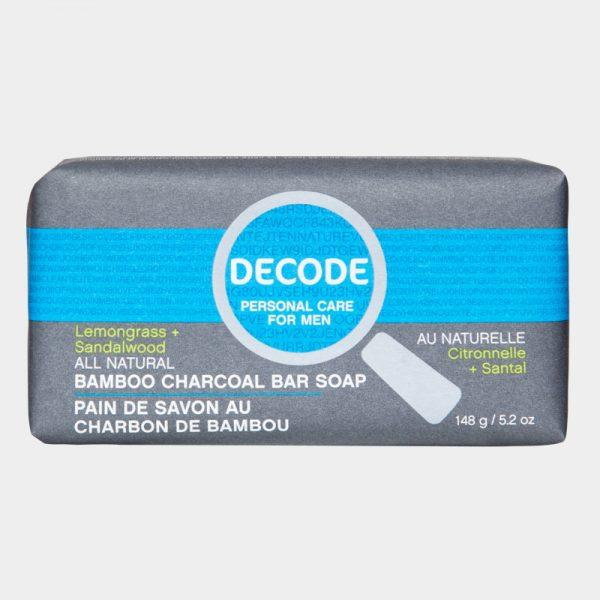 Personal Care - Decode - Bar Soap, Lemongrass & Sandalwood, 148g