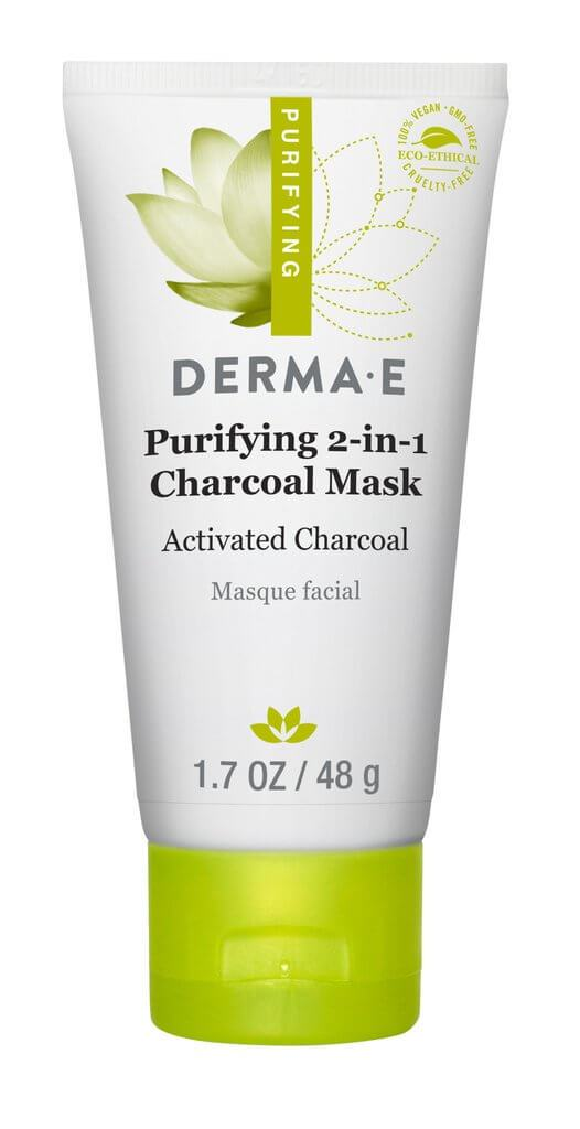 Personal Care - Derma E - Purifying 2-in-1 Charcoal Mask, 48g