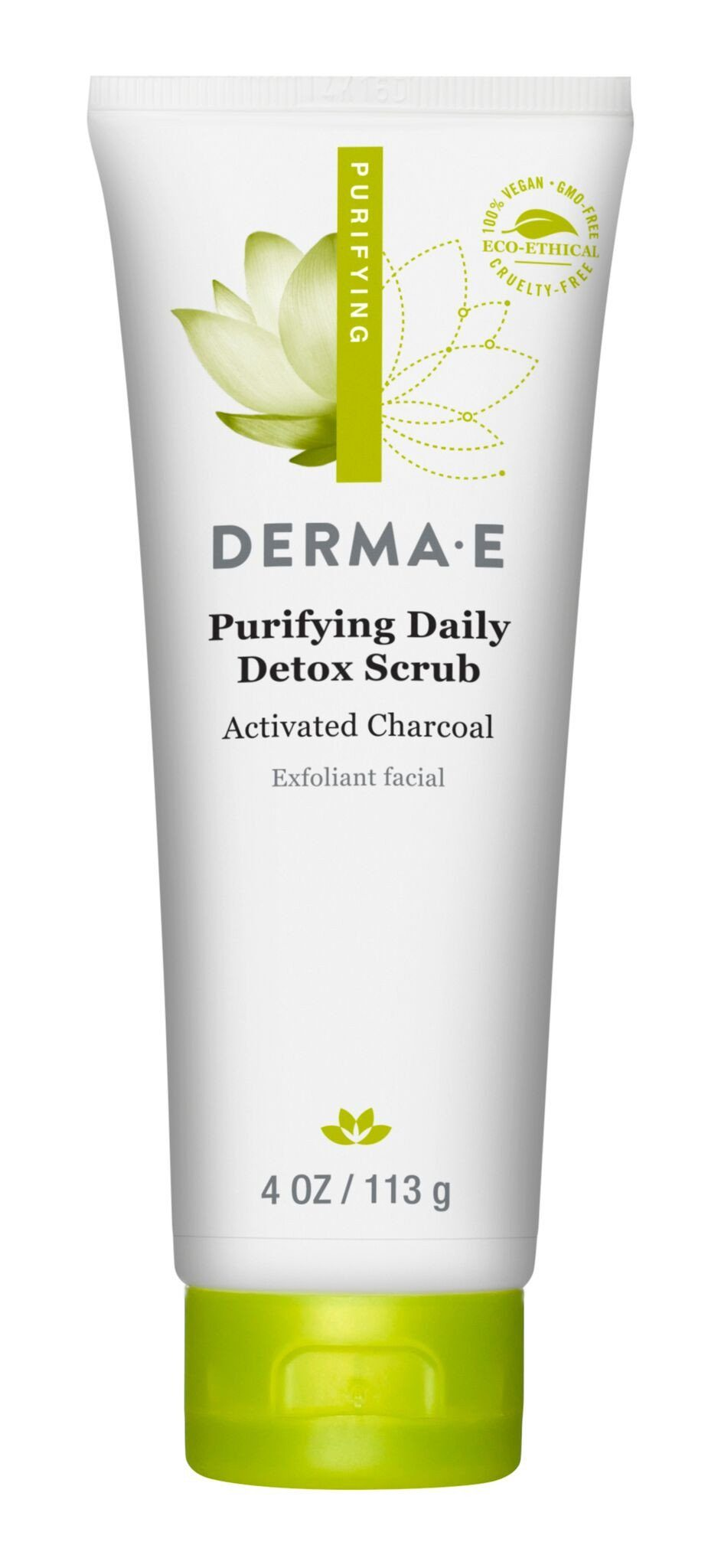 Personal Care - Derma E - Purifying Daily Detox Scrub, 113g