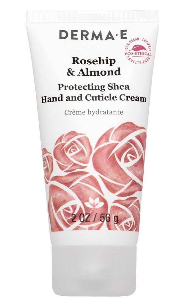 Personal Care - Derma E - Rosehip & Almond Hand & Cuticle Cream, 2oz
