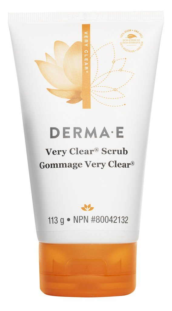 Personal Care - Derma E - Very Clear Cleansing Scrub - 113g