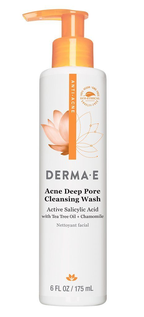 Personal Care - Derma E - Very Clear Problem Skin Cleanser, 170g