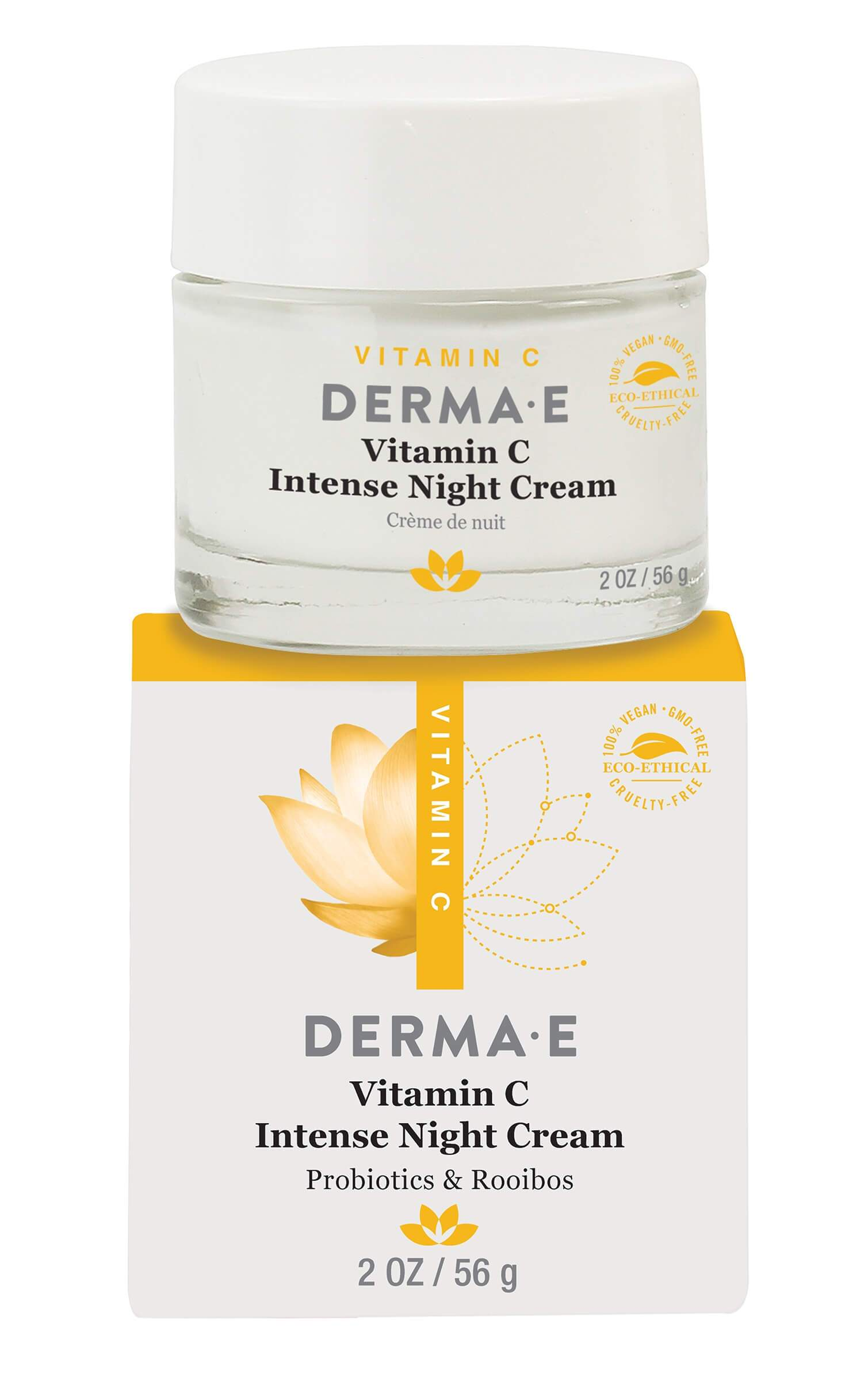 Personal Care - Derma E - Vitamin C Intense Night Creme - 56g