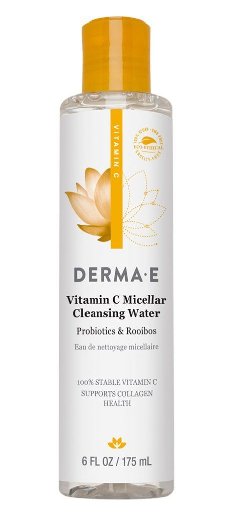 Personal Care - Derma E - Vitamin C Micellar Cleansing Water, 175mL