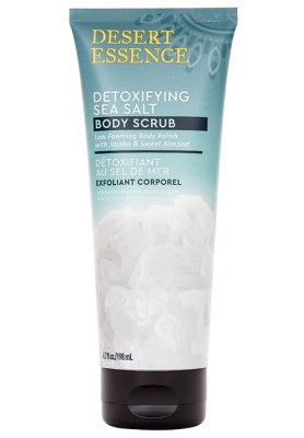 Personal Care - Desert Essence - Detoxifying Sea Salt Body Scrub, 6.7 Fl Oz