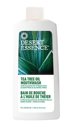 Personal Care - Desert Essence - Tea Tree Oil Mouthwash, 480mL