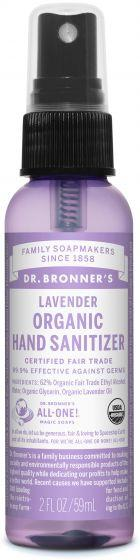 Personal Care - Dr. Bronner's - Hand Sanitizer - Lavender, 59mL