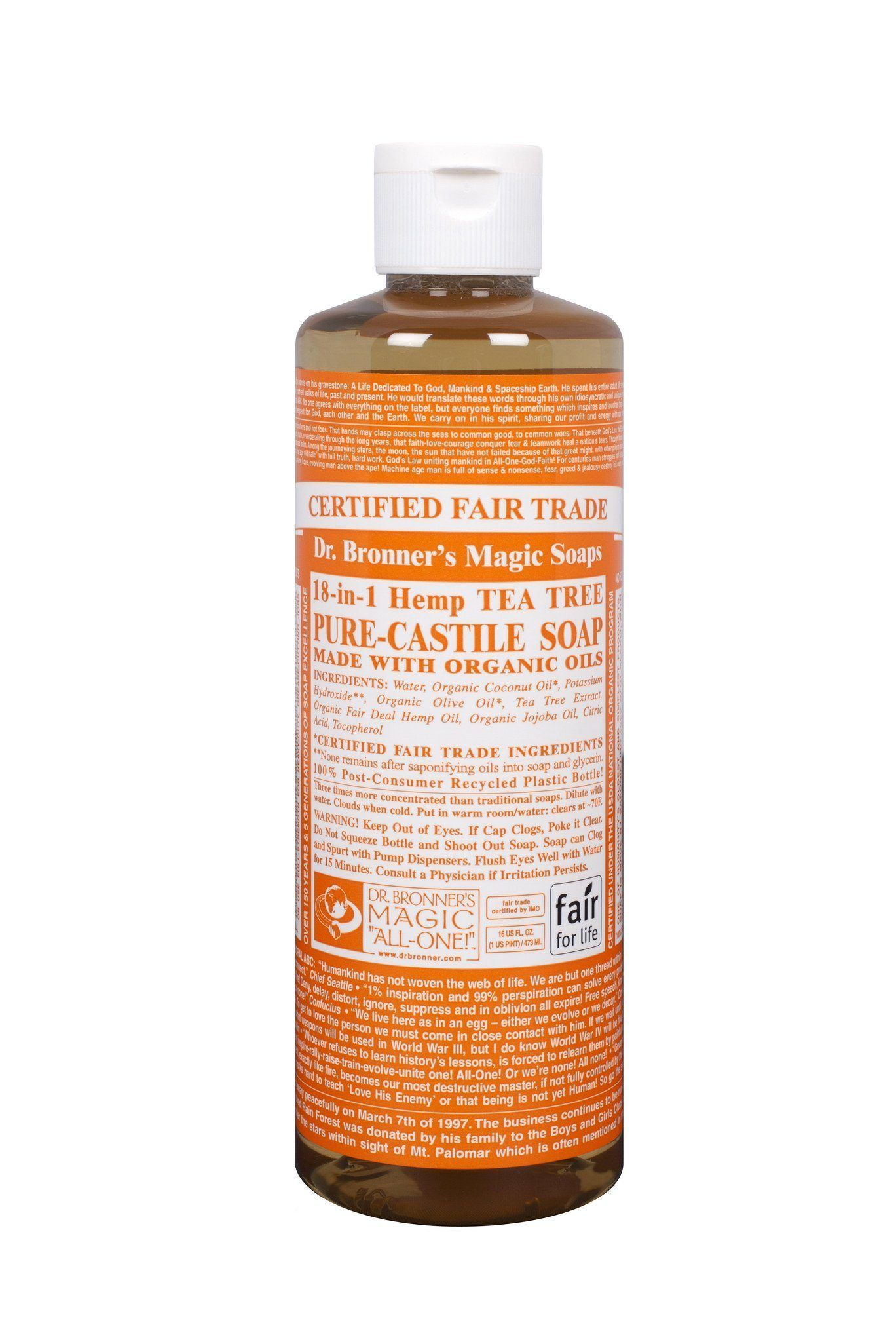 By Photo Congress || Dr Bronner's Tea Tree Liquid Soap Review