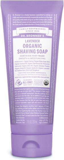 Personal Care - Dr. Bronner's - Shave Gel - Lavender - 207ml