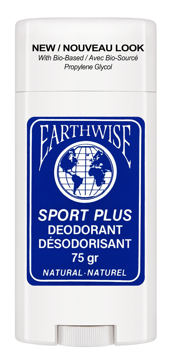 Personal Care - Earth Wise - Sportplus Deodorant, 75g