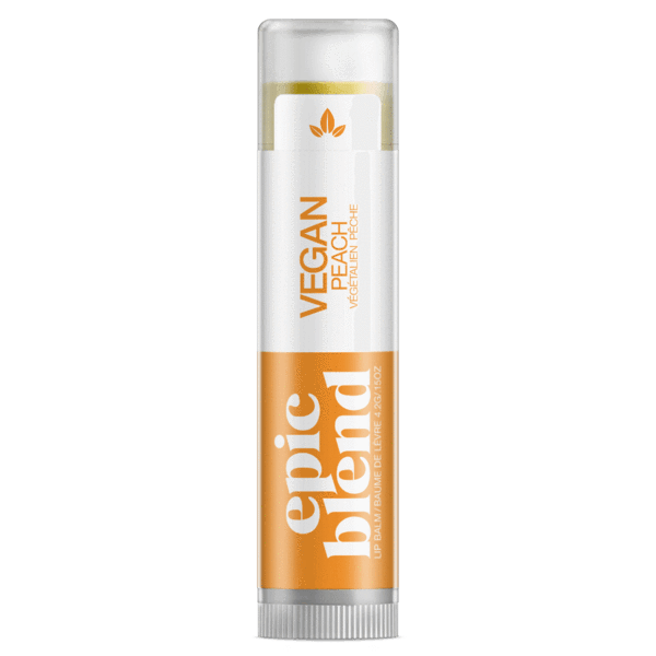 Personal Care - Epic Blend - Lip Balm, Vegan Peach, 4.2g