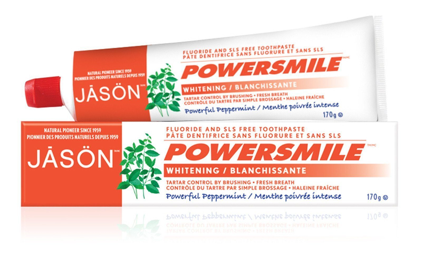 Personal Care,Food & Drink - JASON - PowerSmile Toothpaste, 170g