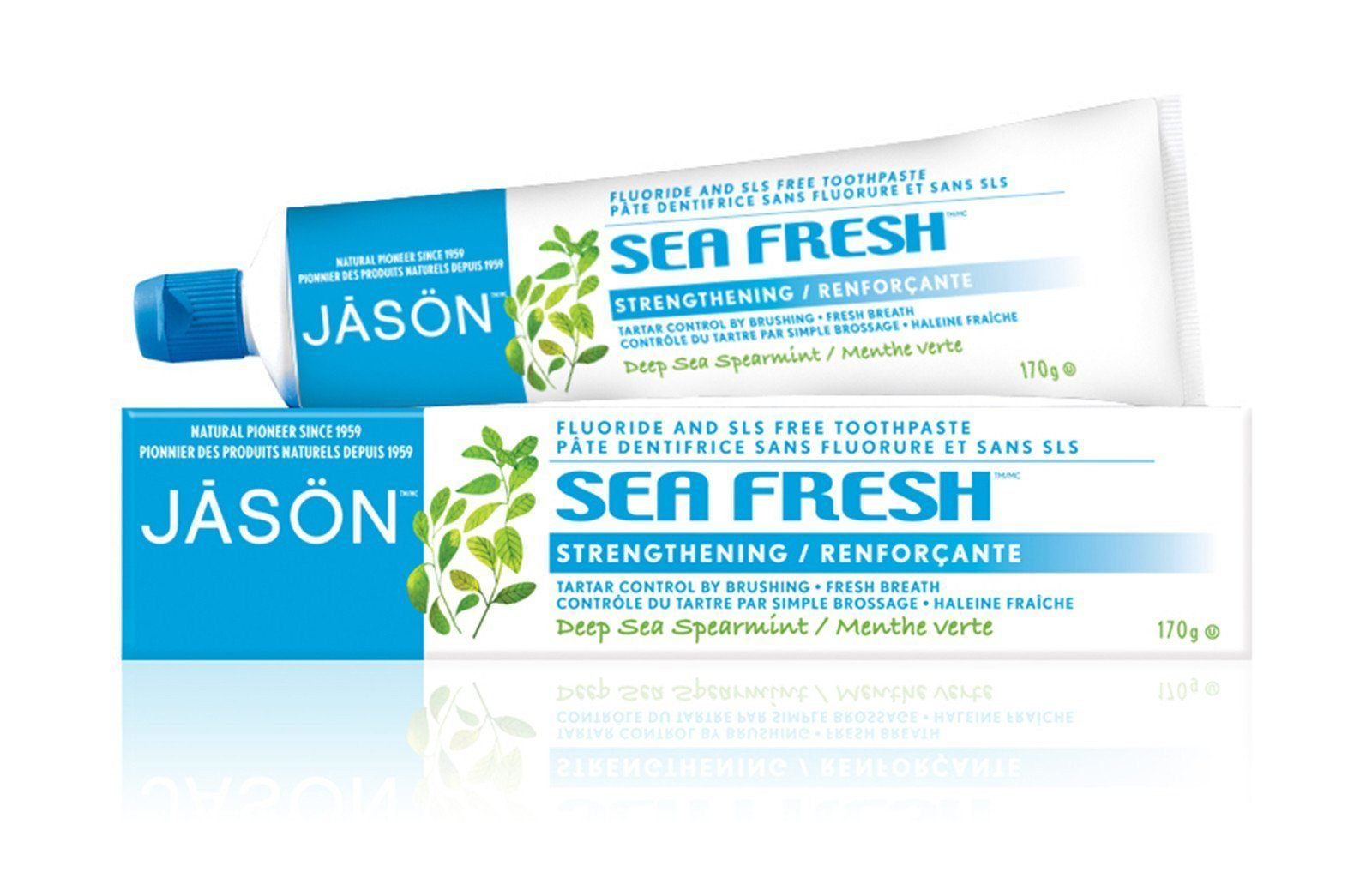 Personal Care,Food & Drink - JASON - Seafresh Toothpaste, 170g