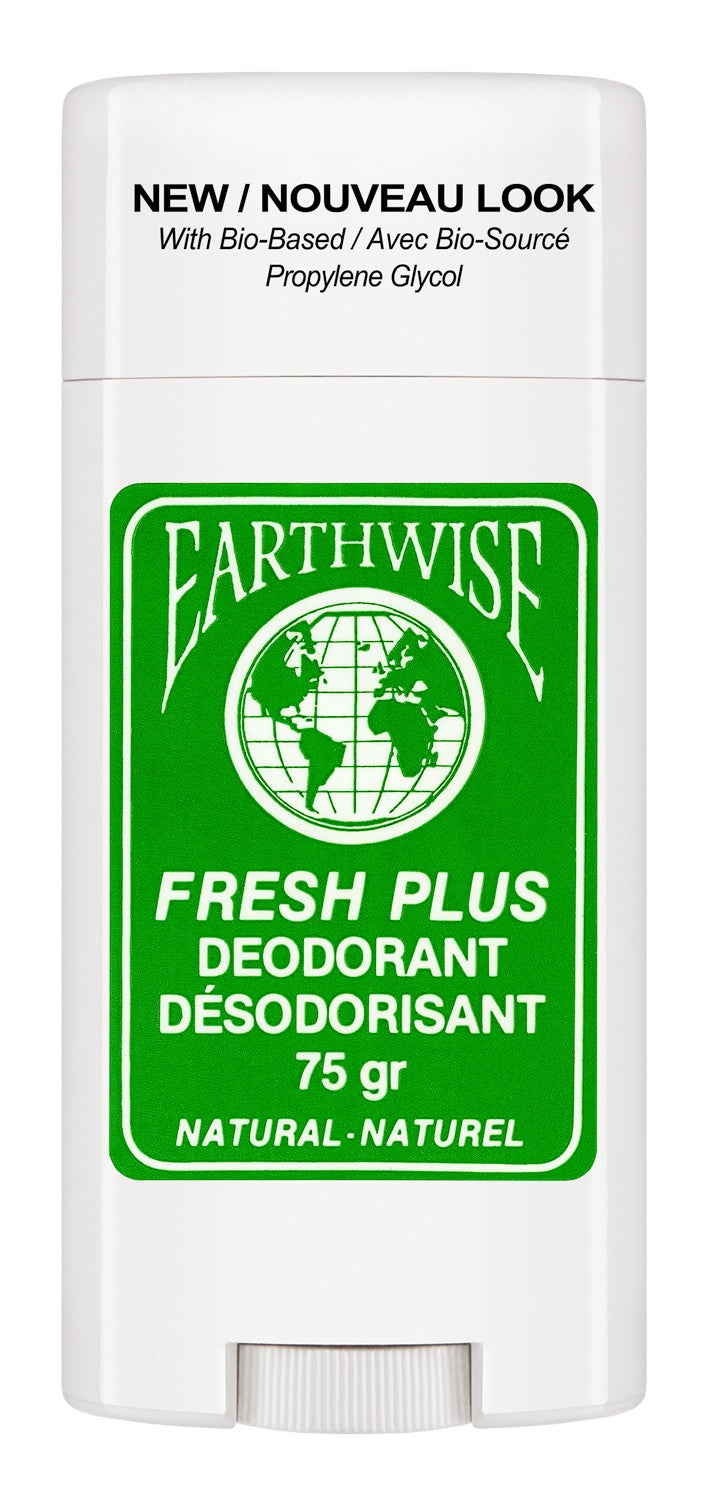 Personal Care,Gluten Free,Dairy Free,Vegan - Earth Wise - Freshplus Natural Deodorant, 75g