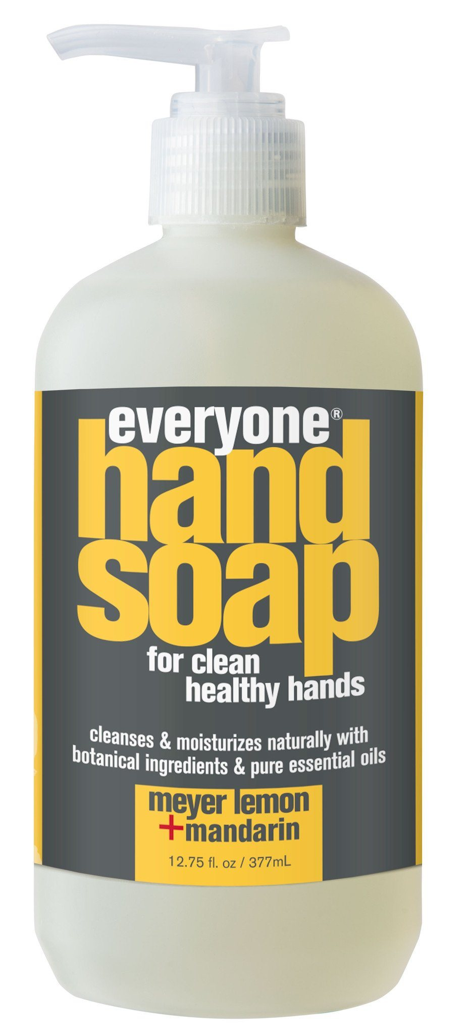 Personal Care,Gluten Free,Non GMO - EO - Everyone Meyer Lemon & Mandarin Hand Soap, 377ml