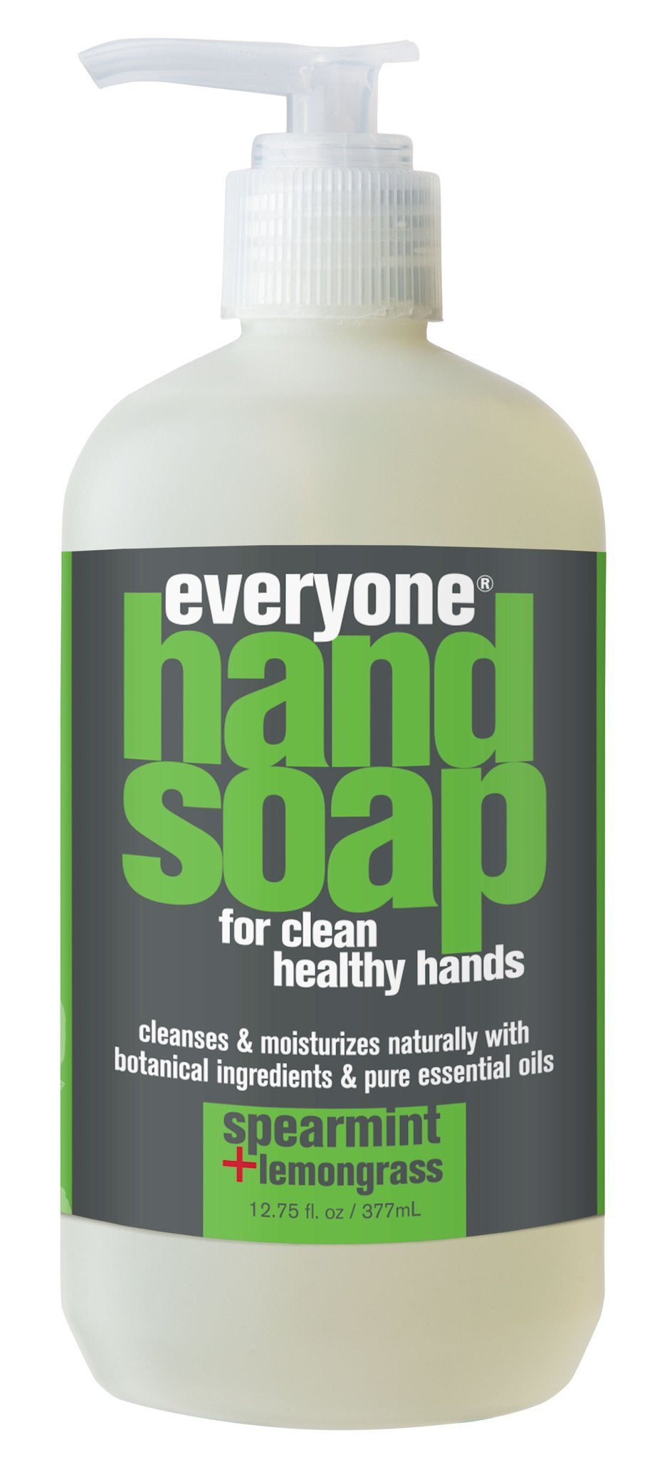 Personal Care,Gluten Free,Non GMO - EO - Everyone Spearmint & Lemongrass Hand Soap, 377ml