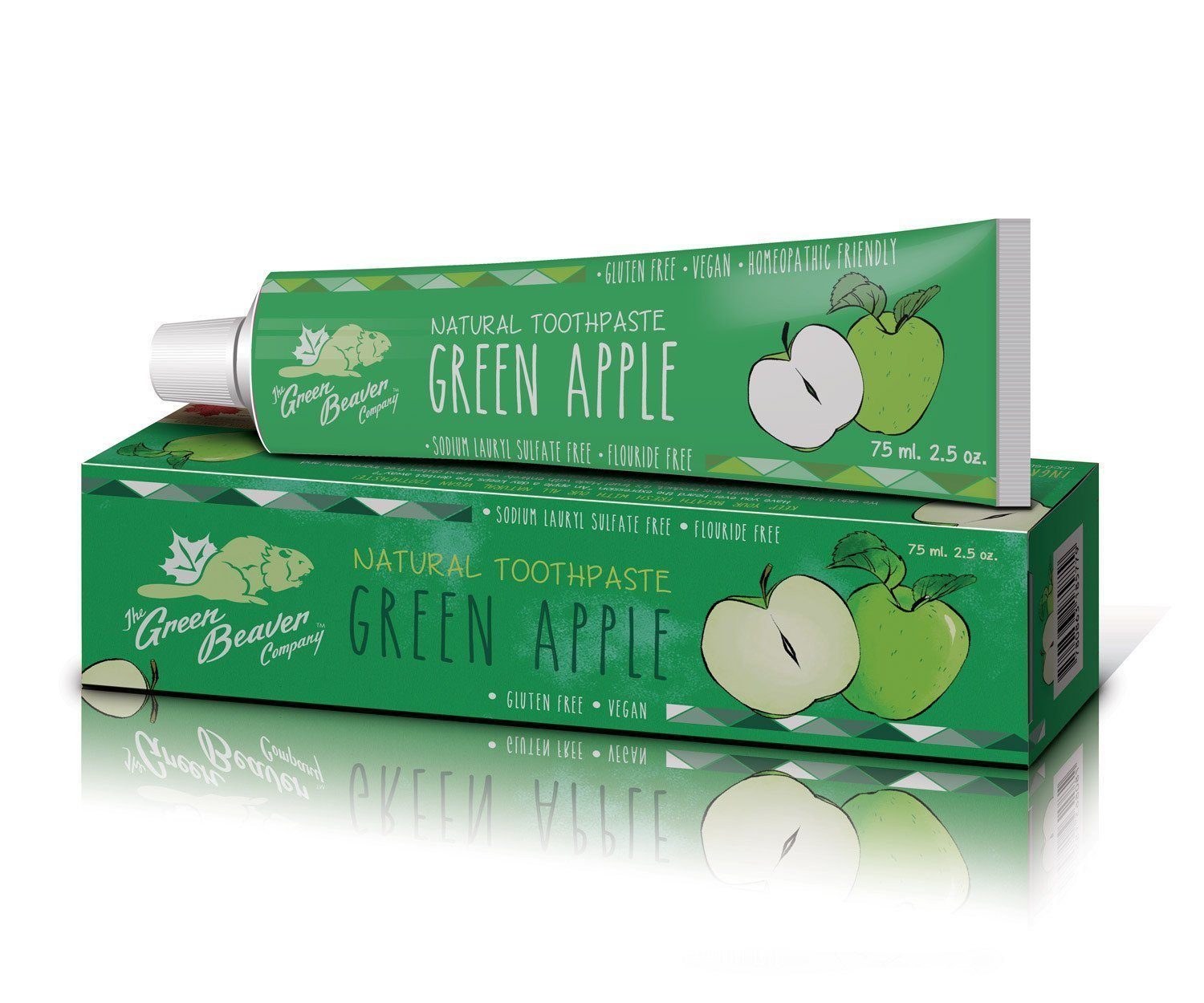 Personal Care - Green Beaver - Green Apple Toothpaste, 75 Ml
