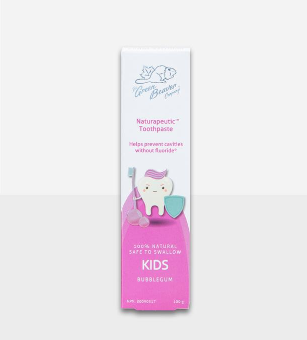 Personal Care - Green Beaver - Naturapeutic Kids Toothpaste - Bubblegum, 100g