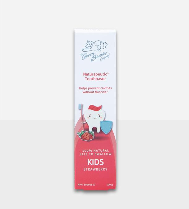 Personal Care - Green Beaver - Naturapeutic Kids Toothpaste - Strawberry, 100g