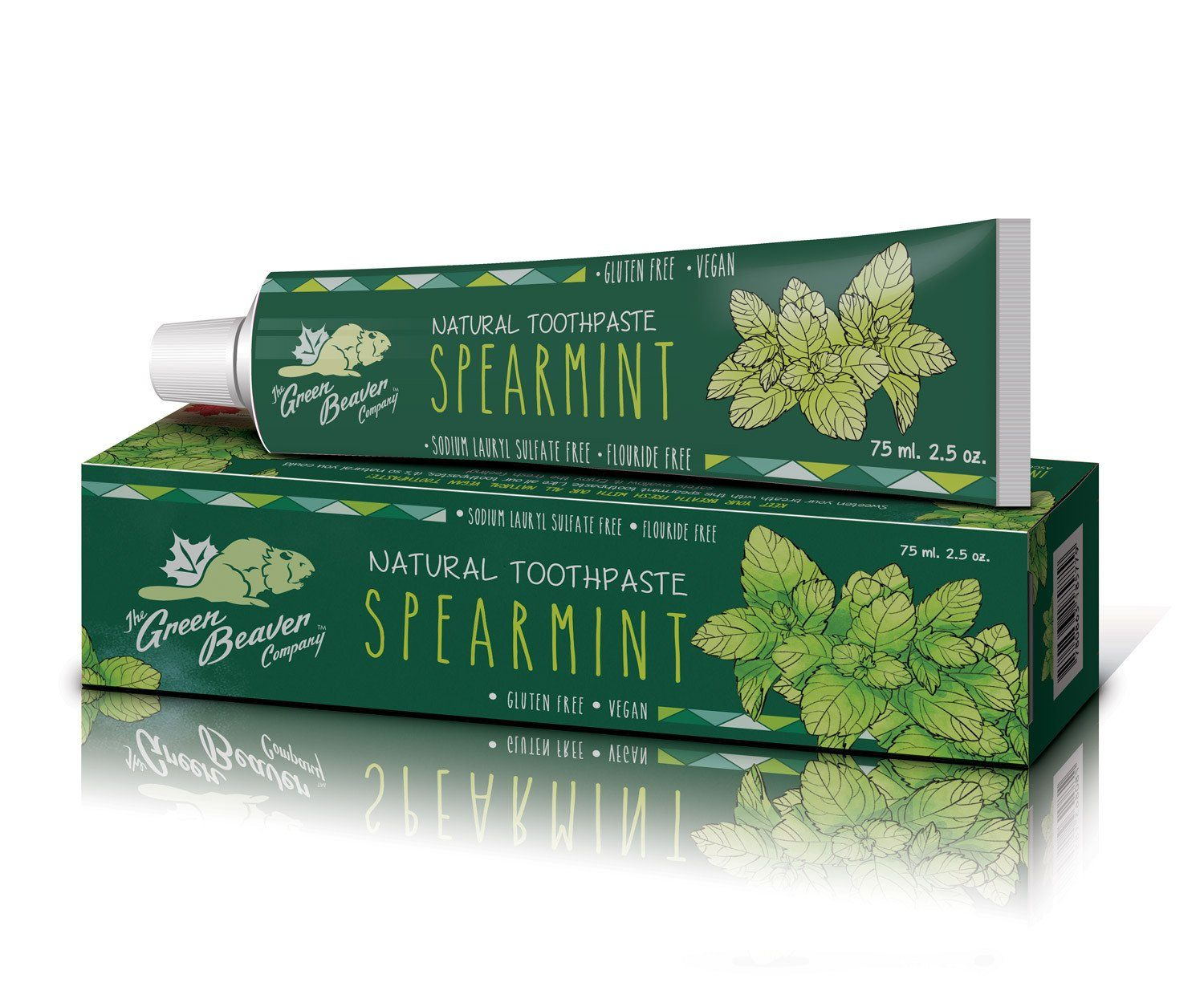 Personal Care - Green Beaver - Spearmint Toothpaste, 75 Ml