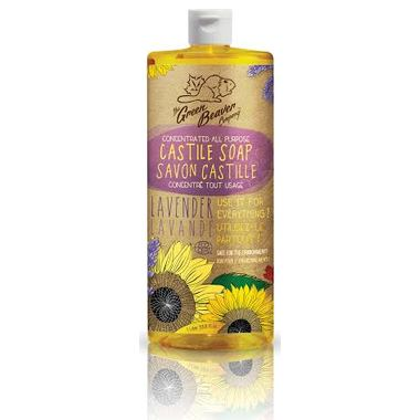 Personal Care - Green Beaver - Sunflower Liquid Soap - Lavender - 1L
