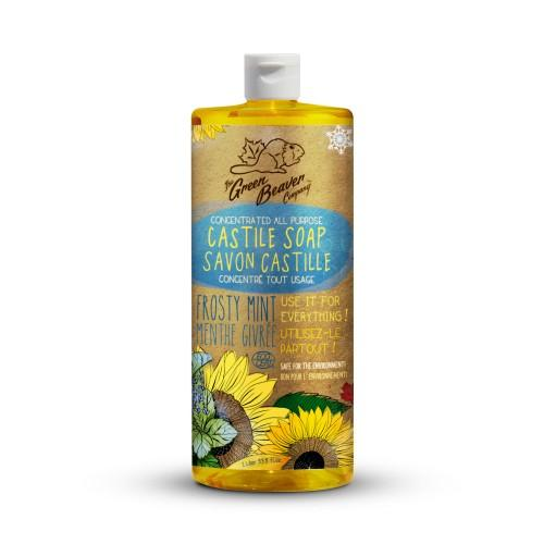 Personal Care - Green Beaver - Sunflower Liquid Soap - Mint, 1L