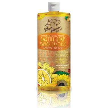 Personal Care - Green Beaver - Sunflower Liquid Soap - Orange - 1L
