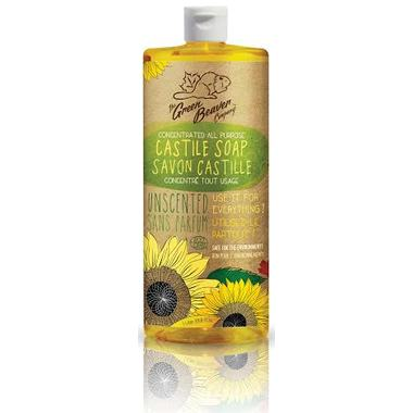 Personal Care - Green Beaver - Sunflower Liquid Soap - Unscented, 1L