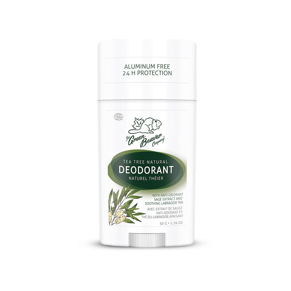 Personal Care - Green Beaver - Tea Tree Deodorant Stick, 50 G