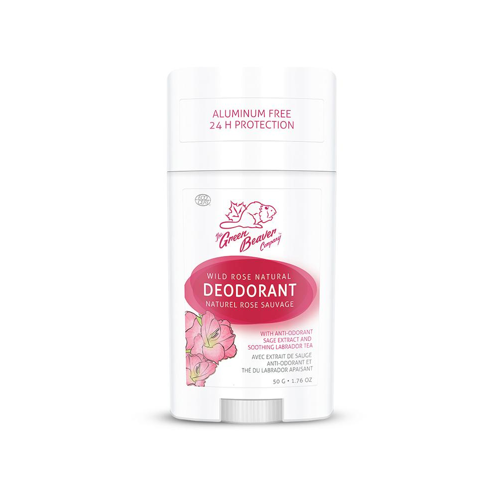 Personal Care - Green Beaver - Wild Rose Deodorant Stick, 50g