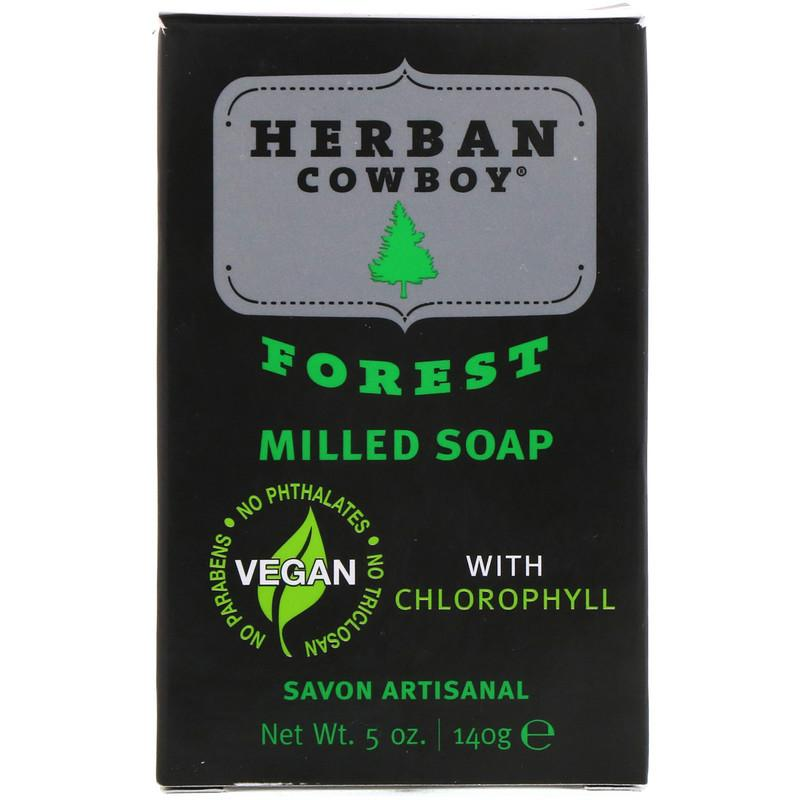 Personal Care - Herban Cowboy - Bar Soap, Forest, 140g