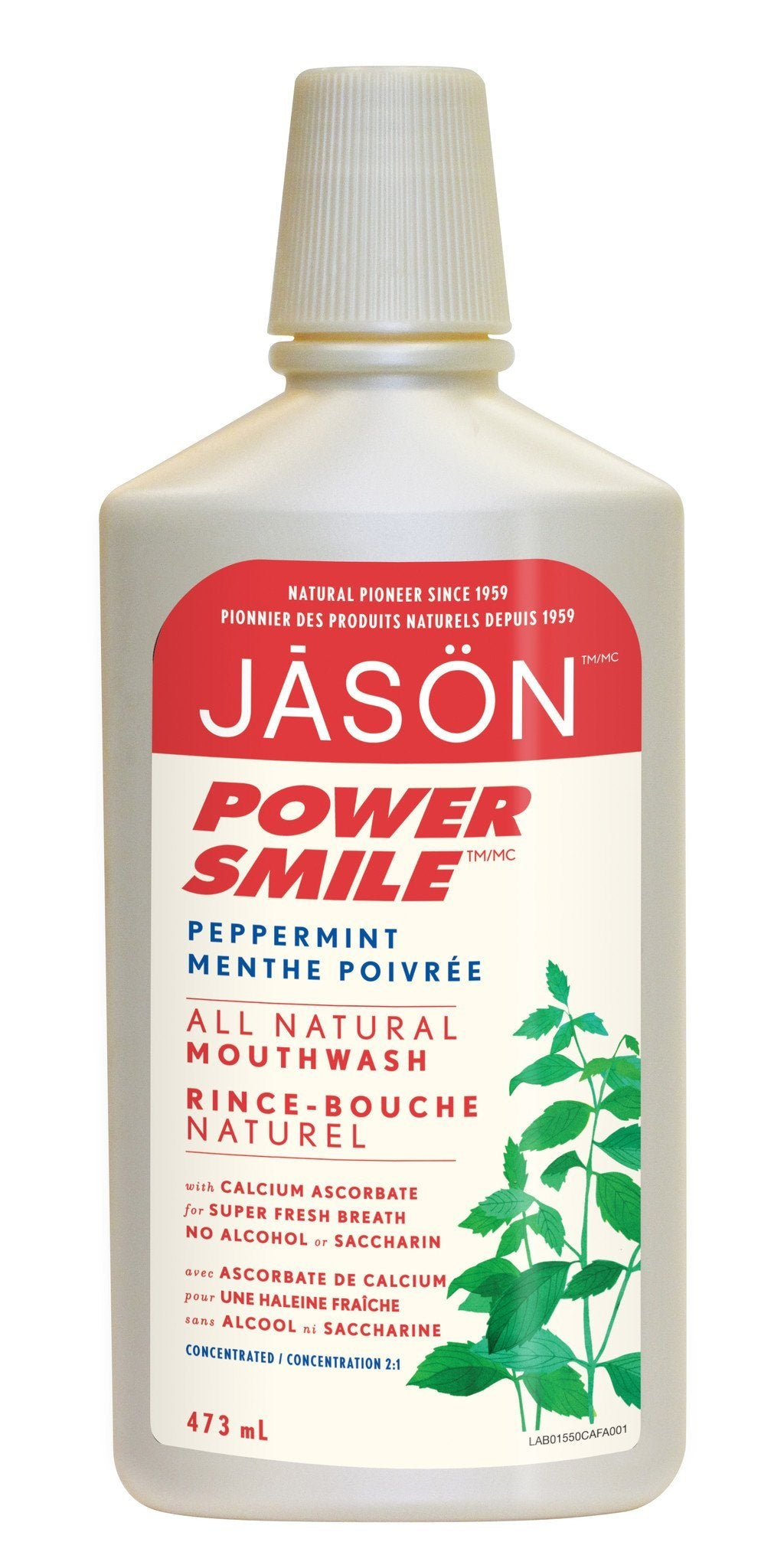 Personal Care - JASON - Powersmile® Brightening Peppermint Mouthwash, 473ml
