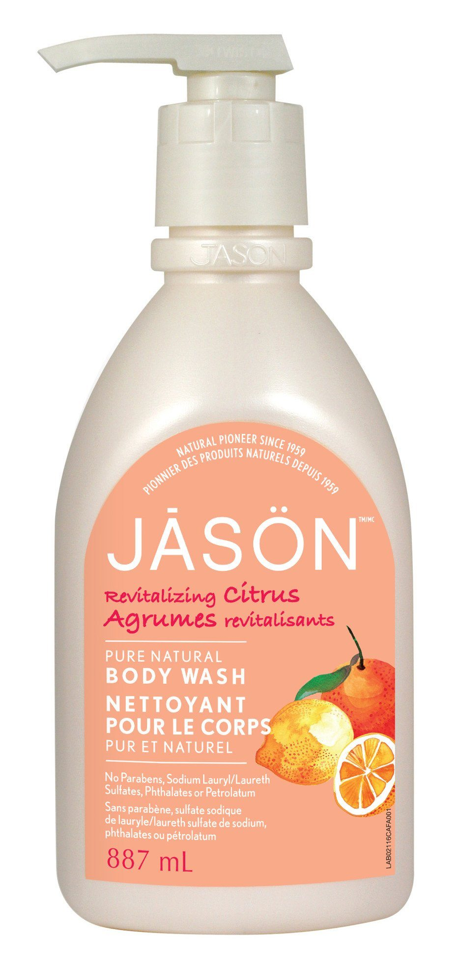 Personal Care - JASON - Revitalizing Citrus Body Wash, 887ml