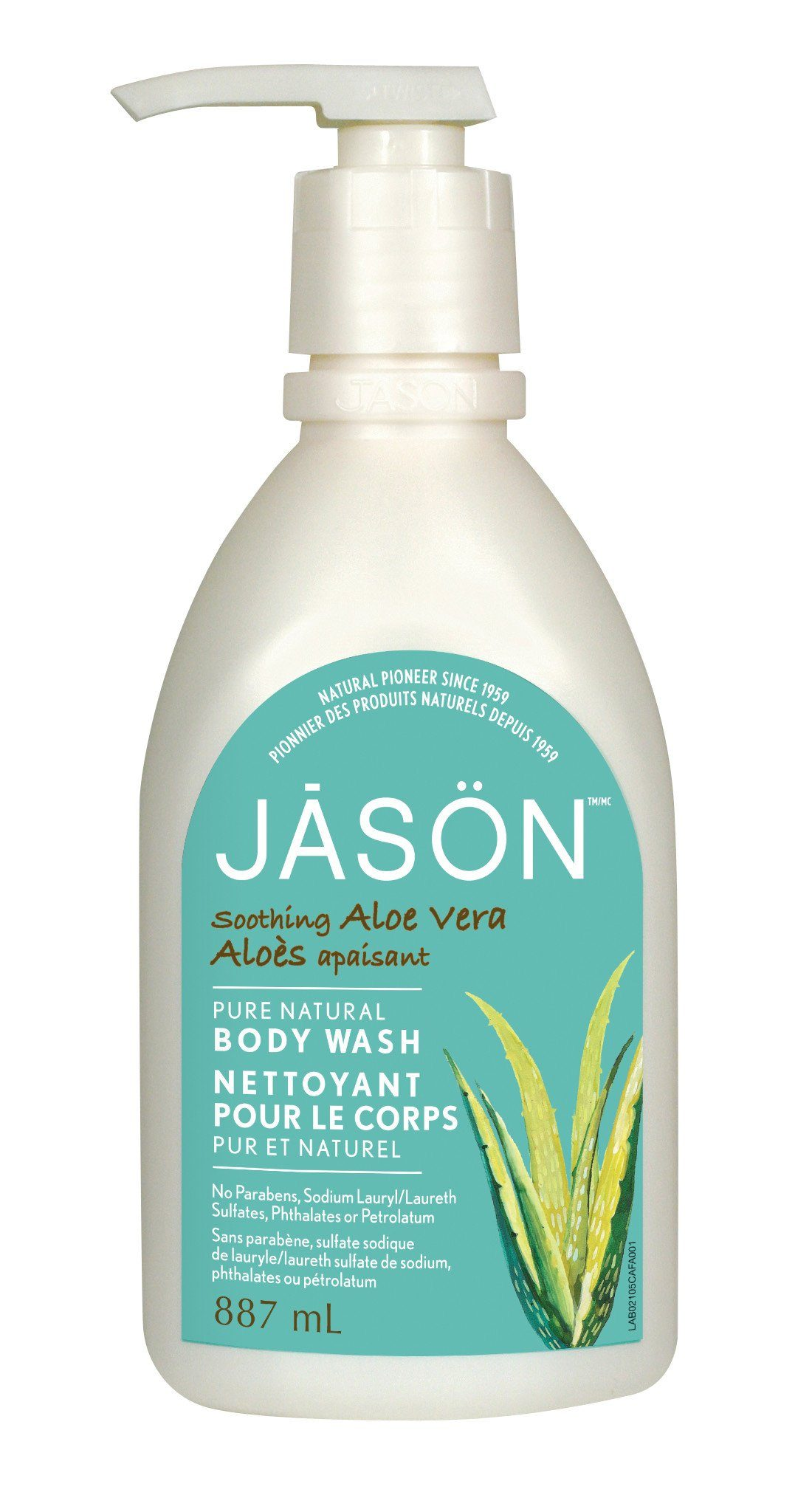 Personal Care - JASON - Soothing Aloe Vera Body Wash, 887ml