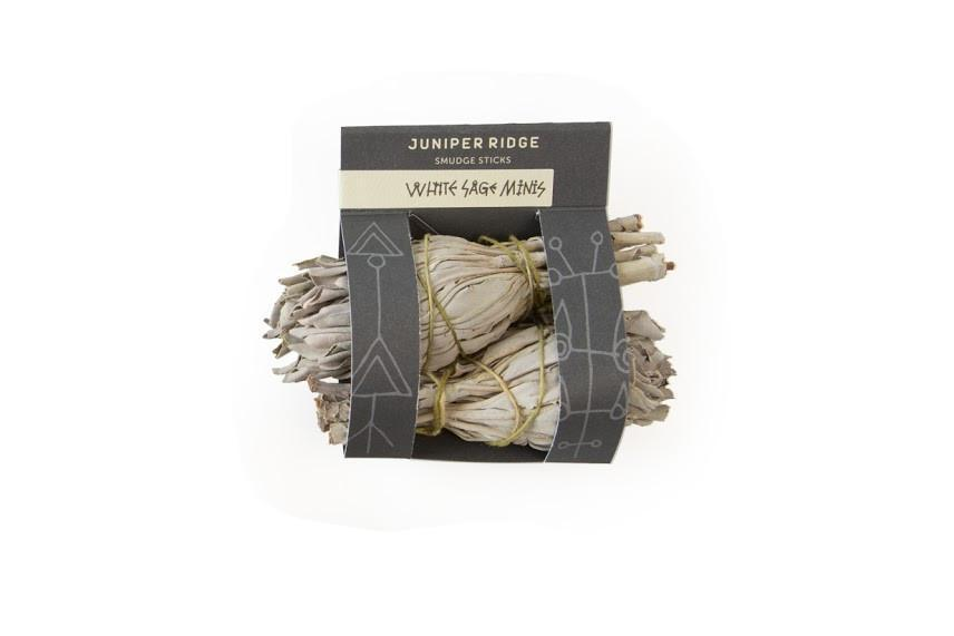 Personal Care - Juniper Ridge - Smudge Sticks - White Sage Minis, 2pk