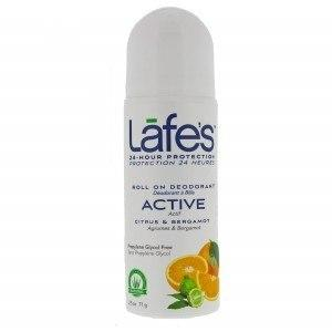 Personal Care - Lafe's - Roll-on Deodorant - Active, 89mL