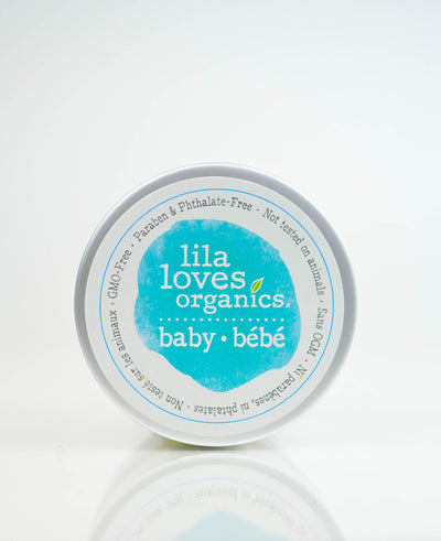Personal Care - Lila Loves Organics Inc. - Baby Bum Butter, With Organic Oils, 100ml
