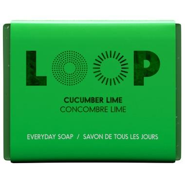 Personal Care - LOOP - Bar Soap, Cucumber Lime, 100g