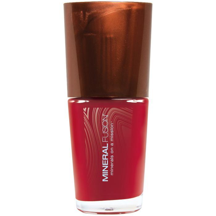 Personal Care - Mineral Fusion Nail Polish - Crimson Clay, 0.33oz