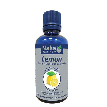 Personal Care - Naka Platinum - Lemon Oil, 50ml