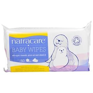 Personal Care - Natracare - Baby Wipes, 50 Wipes