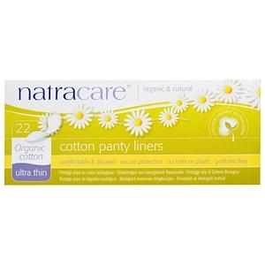 Personal Care - Natracare - Cotton Panty Liners, 22 Pads
