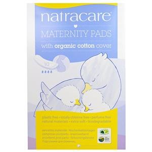 Personal Care - Natracare - Maternity Pads, 10 Pads