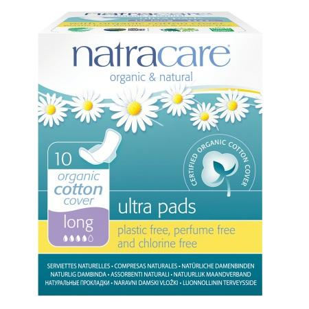 Personal Care - Natracare - Natural Ultra Pads (long) - 10
