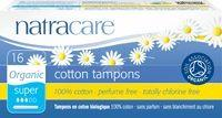 Personal Care - Natracare - Super - Organic Tampon With Applicator, 16 Tampons