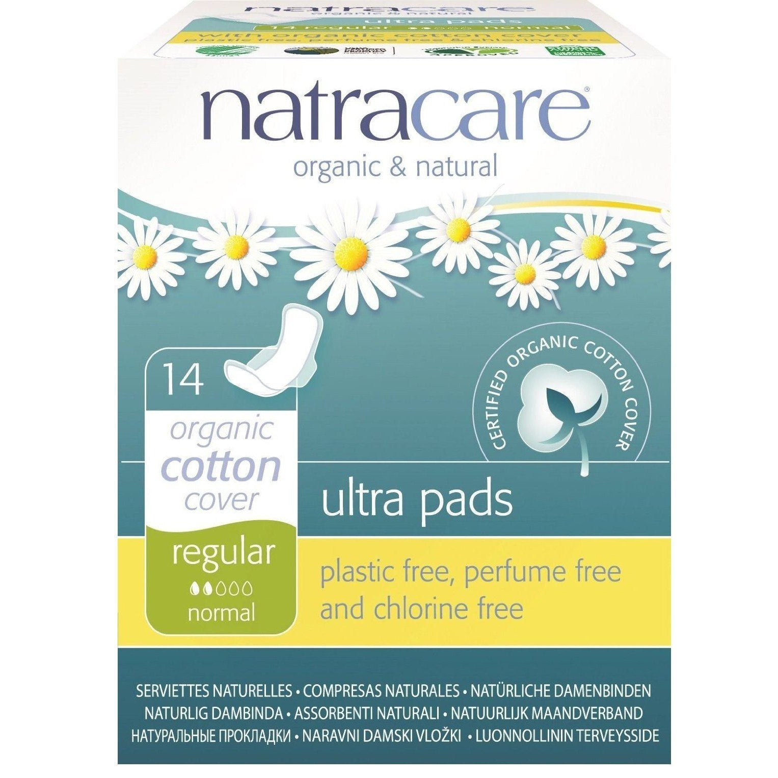 Personal Care - Natracare - Ultra W/wings - 14 Pads